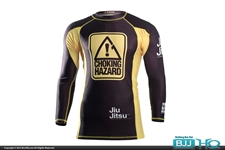 Today on BJJHQ 93 Brand Choking Hazard V2 Rashguard - $35